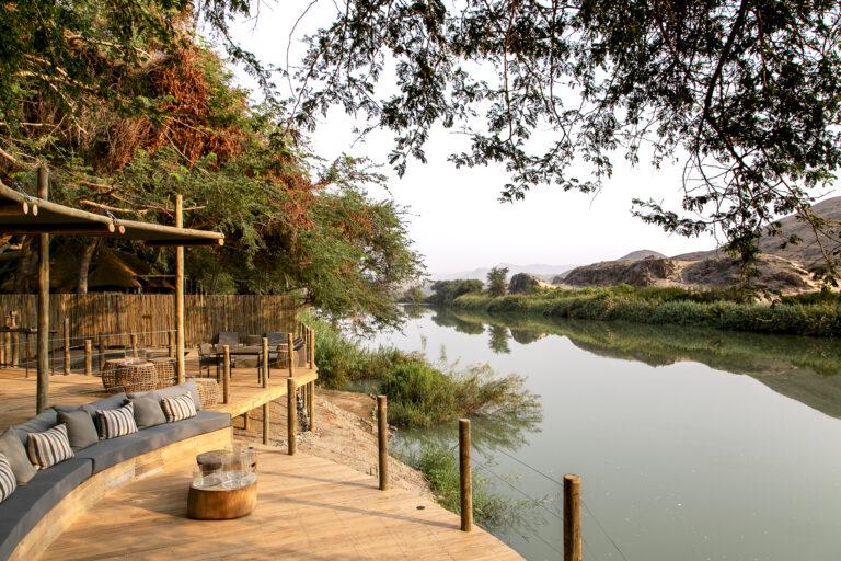 El entorno de Serra Cafema, Namibia